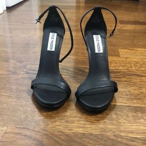 Steve Madden black stecy heels size 6.5